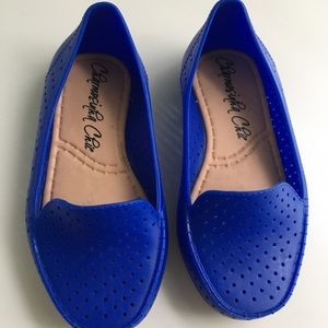 Other - Blue Jelly Moccasin shoes for girls • size 7•